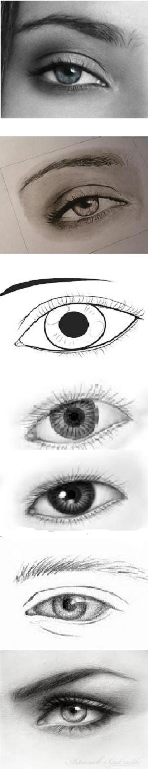 Menggambar Mata Pada Bagian Sketsa Wajah Cara Cepat Belajar