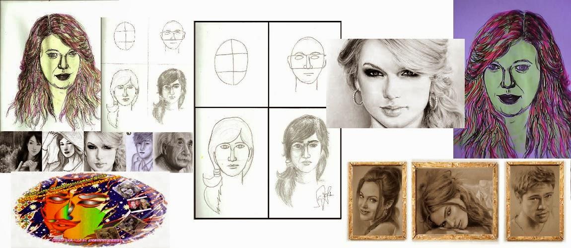 cara cepat belajar menggambar sketsa wajah | belajar menggambar sketsa ...